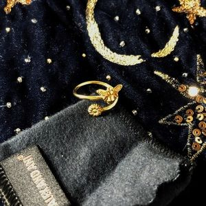 ALEX & ANI Bumblebee Wrap Ring Rafaelian Gold